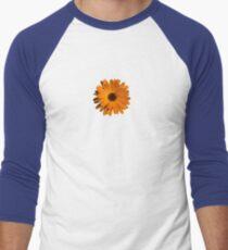 Orange power flower Baseball ¾ Sleeve T-Shirt