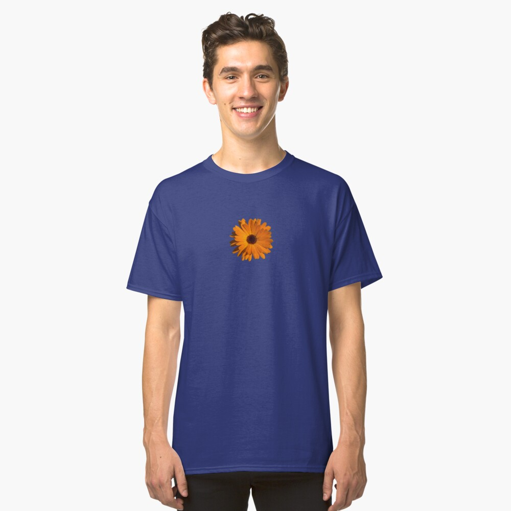 Orange power flower Classic T-Shirt