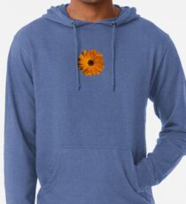 Orange power flower Lightweight Hoodie