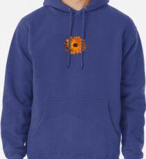 Orange power flower Pullover Hoodie