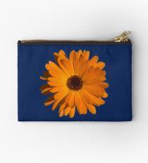 Orange power flower Zipper Pouch