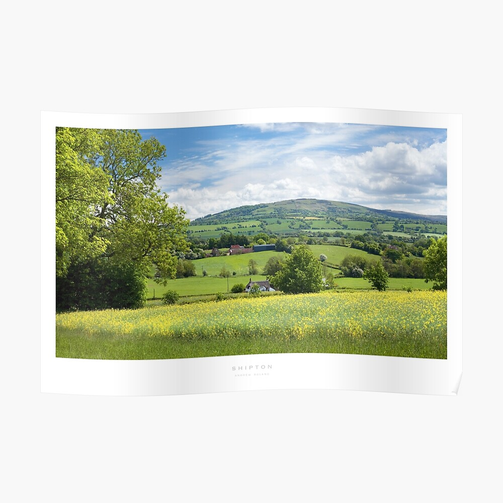 Shipton, Shropshire Poster