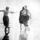 Three Dancers by Lisa Cook