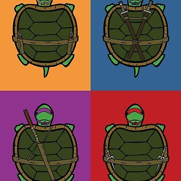 Ninja Baby Turtle Power by Lewis-Morris