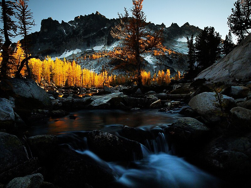 Quot Sunset In The Enchantments Washington State Quot By
