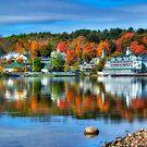Meredith, NH on Lake Winnipesaukee by Bruce Taylor