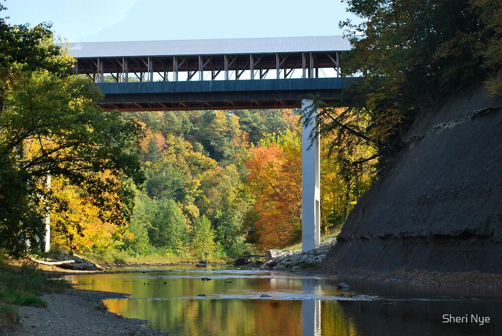 Smolen Coverd Bridge by Sheri Nye