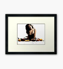 The Riot Of Fruitful Things. Framed Print