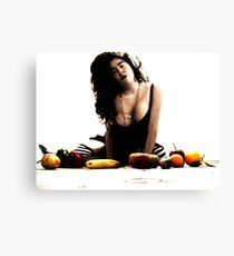 The Riot Of Fruitful Things. Canvas Print