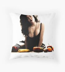 The Riot Of Fruitful Things. Throw Pillow