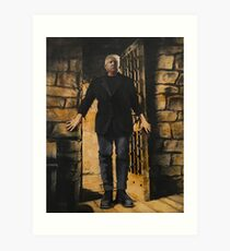 Trump: the Gate Keeper Art Print