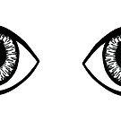 Ein Paar Augen von Corey Paige Designs