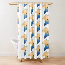 Claudius Graphic, Paladin Sailor of Bahamut Shower Curtain
