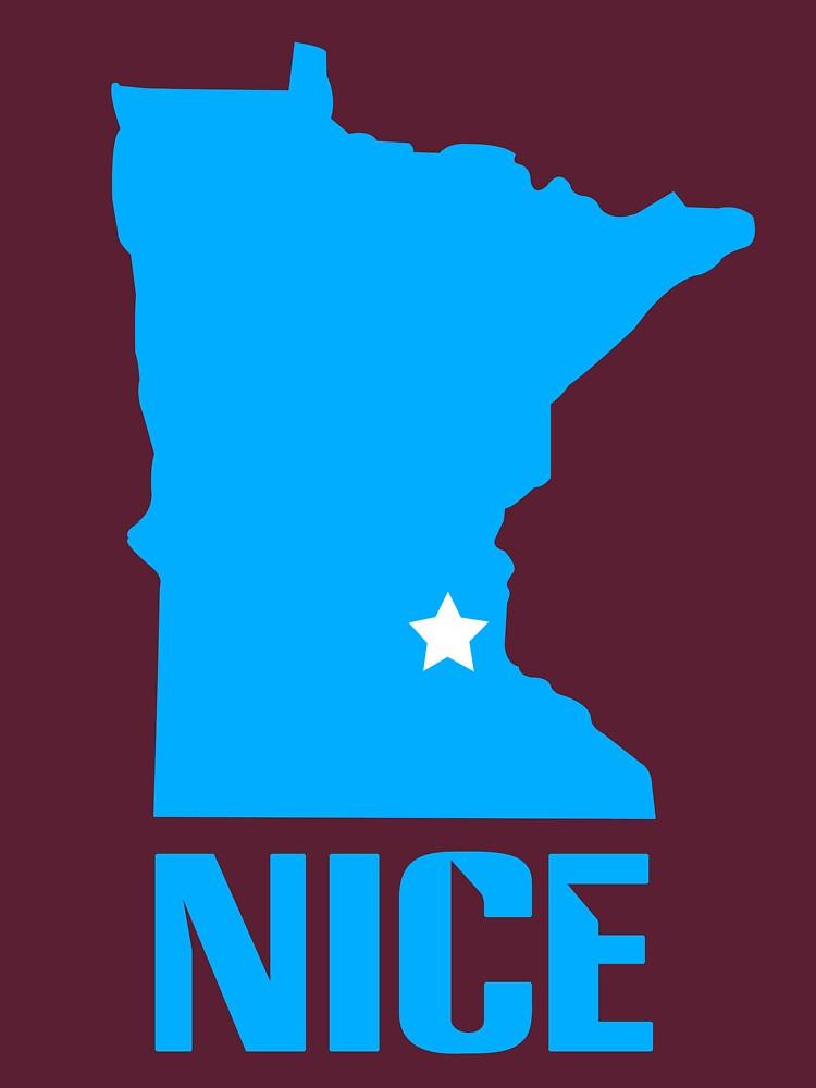 Minnesota nice geek funny nerd by sayasiti