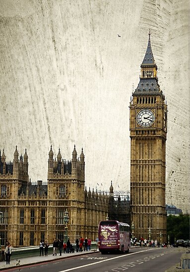 Houses of Parliament & Big Ben  by Jonicool