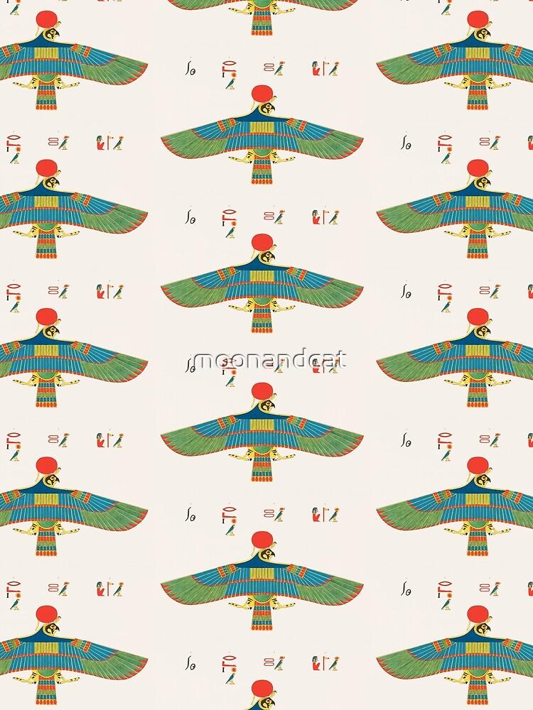 Ancient Egyptian Hawk of Ra von moonandcat