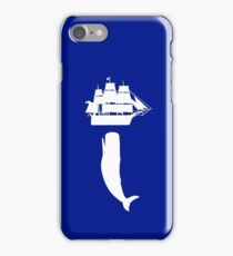 Moby dick rising geek funny nerd iPhone Case/Skin
