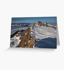 Winter on Kitzsteinhorn 57 Greeting Card