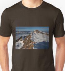 Winter on Kitzsteinhorn 57 Unisex T-Shirt