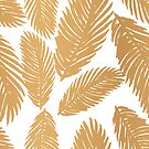 Gold Leaf Pattern by julieerindesign