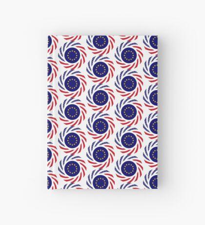 European American Multinational Patriot Flag Series Hardcover Journal