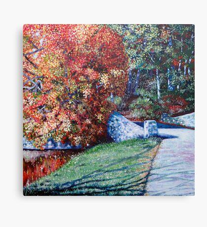 'Autumn Blaze' Canvas Print