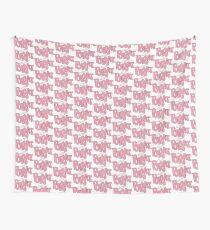 Pink Brat logo  Tapestry
