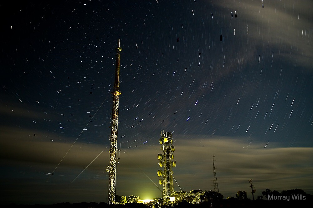 TV.Translator.StarTrails. by Murray Wills