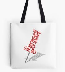 Paper Towns Tote Bag