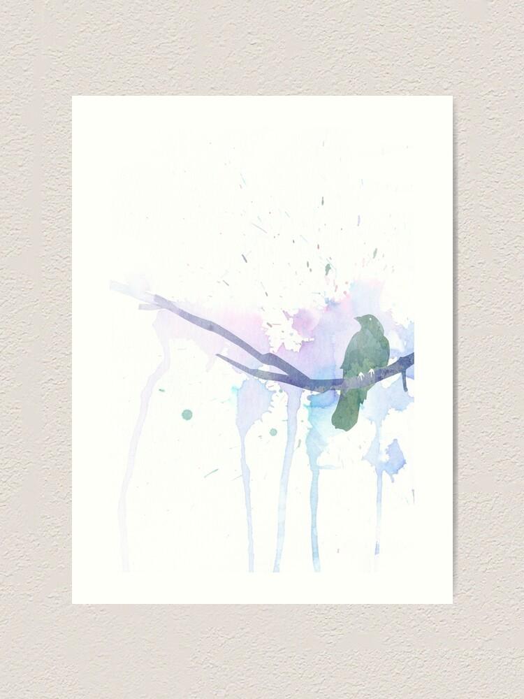Alternate view of Put a bird on it! Art Print