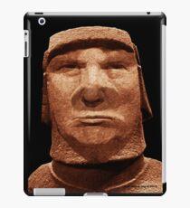 Trump Easter Island Head iPad Case/Skin