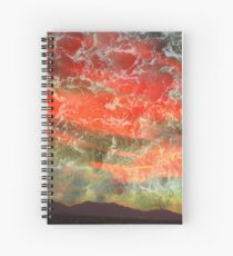 Phoenix Twilight Spiral Notebook