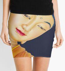 buddha face Mini Skirt