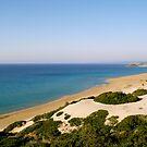 Golden Beach on the Karpas by Alex Cassels