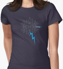 Geo Node Agressor Womens Fitted T-Shirt