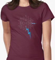 Geo Node Agressor Womens Fitted T-Shirt