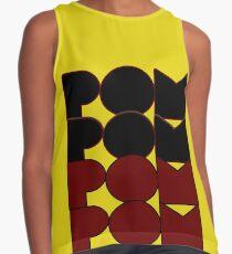 Pom Pom Design Sleeveless Top