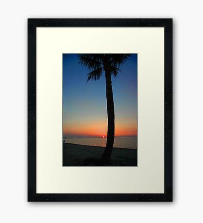 Sunset at Sunset Key, Florida Framed Print