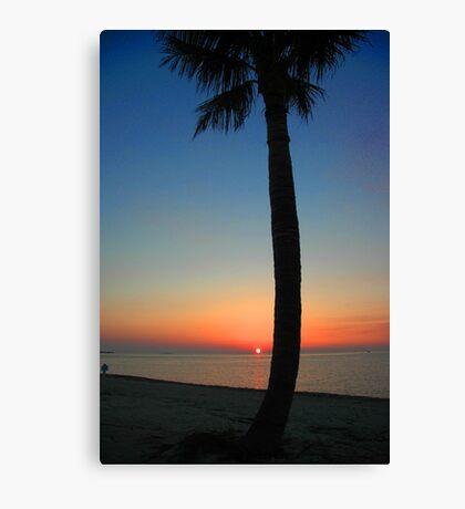Sunset at Sunset Key, Florida Canvas Print