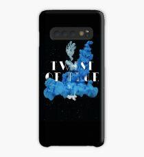 Twist of Blue Alternate Image 1 Case/Skin for Samsung Galaxy