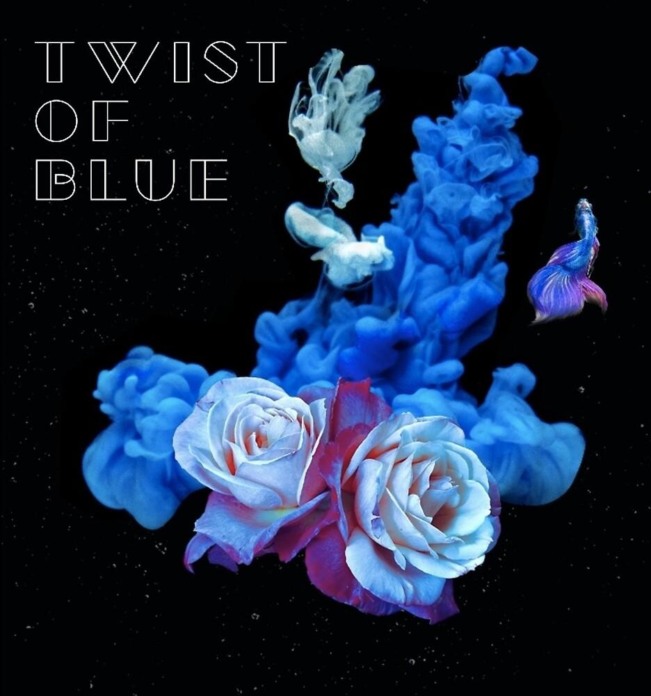 Twist of Blue Alternate Image 2 by Dean Nelson