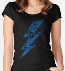 THUNDER FLASH Women's Fitted Scoop T-Shirt