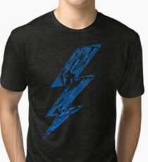 THUNDER FLASH Tri-blend T-Shirt