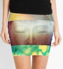 buddha Mini Skirt