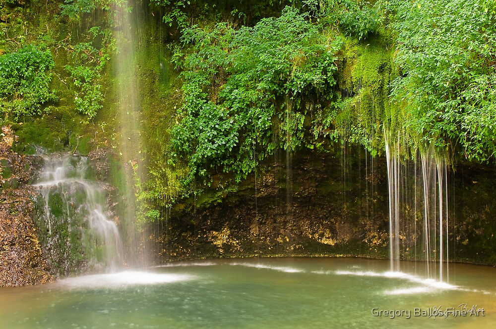 Natural Falls State Park by Gregory Ballos