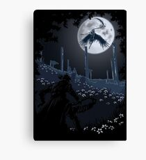 Tonight Gehrman joins the hunt. Canvas Print