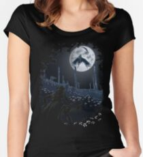 Tonight Gehrman joins the hunt. Women's Fitted Scoop T-Shirt