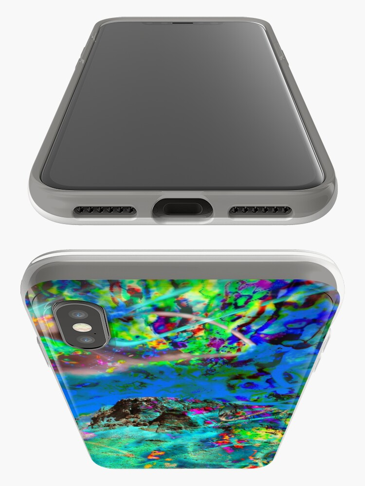 Alternate view of Peaking iPhone Case & Cover