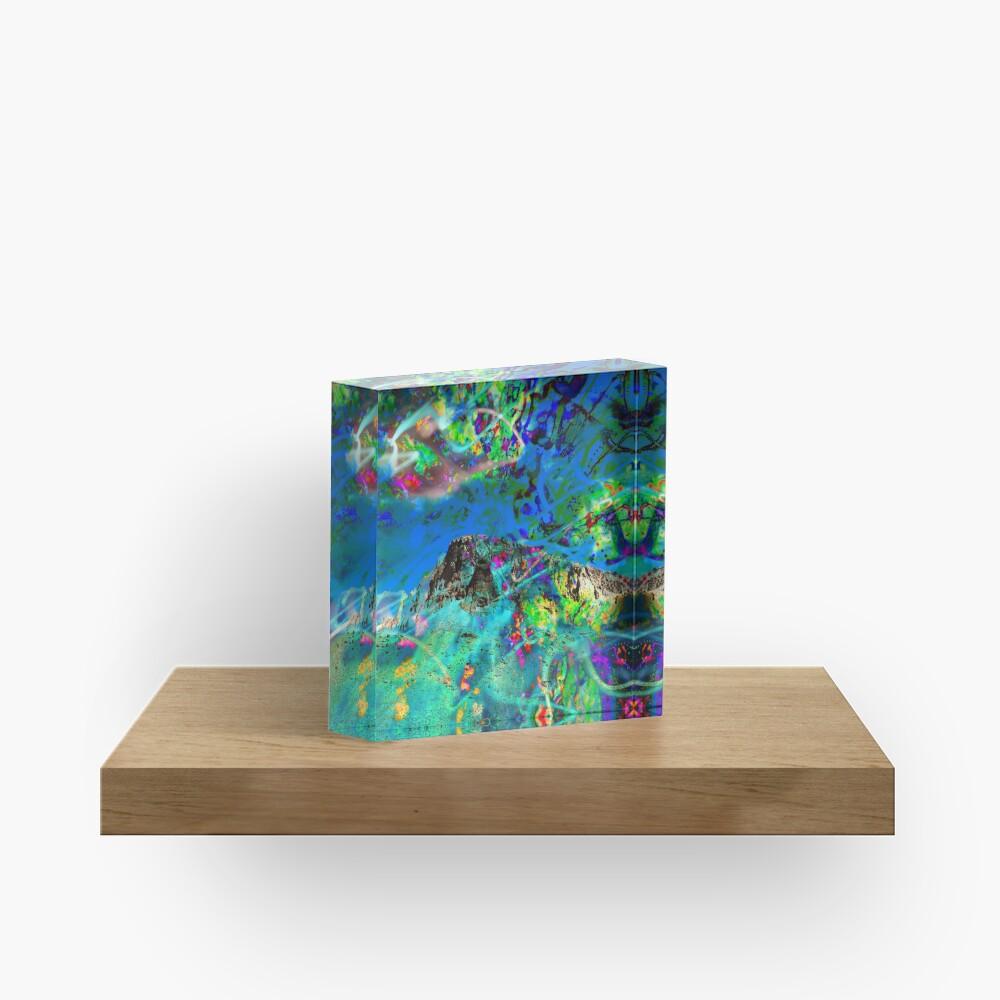 Peaking Acrylic Block