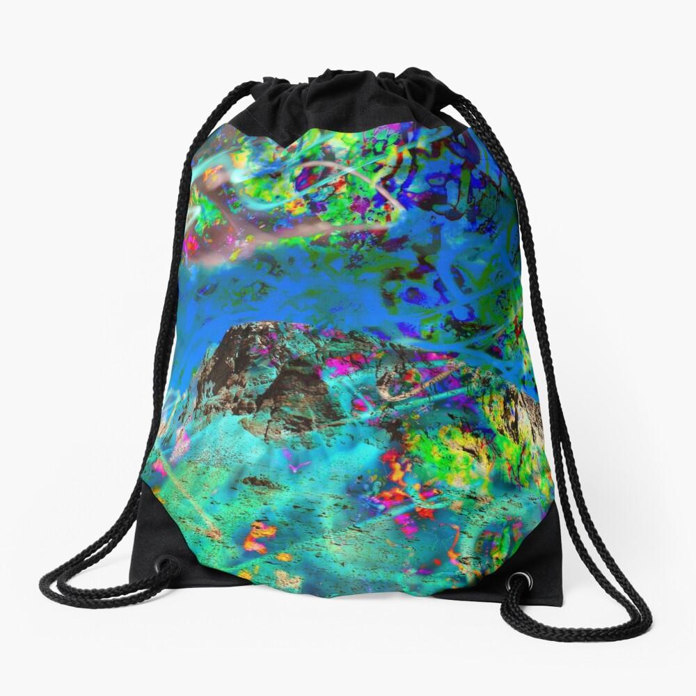 Peaking Drawstring Bag